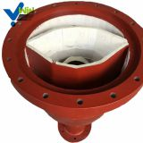 Heating resistance ceramic lined elbow steel pipe with low price
