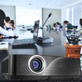 Inproxima 570X Outdoor Building Projector 4500 ANSI Lumen, Native 720p, 50000:1 High Contrast Ratio, 50000 Hours Lamp Life