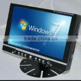 EXW Sell 7INCH Manual Indash Touch Panel With Amplifer Output for Car PC TOUCH SCREEN MONITOR TFT LCD
