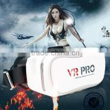 High Quality Pro VR Pro Box virtual reality vr games 3D Movie bluetooth vr 3d glasses for smartphones