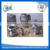 stainless steel male connection and coupling type camlock coupling