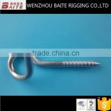 Stainless Steel AISI304 316 Wood Screw Rigging Hardware Manufacturer