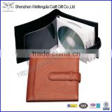 Fashion Custom Faux Leather CD Wallet