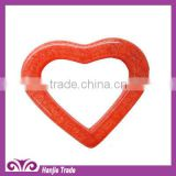 Wholesale red heart shape plastic buckles