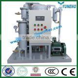 YUNENG Vacuum Hydraulic Oil Processing Machine (machinery oil, hydraulic oil, compressor oil)
