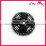 Tube &Special-shaped Beads& Acrylic Montage Button for Women's Dresses WBK-1157