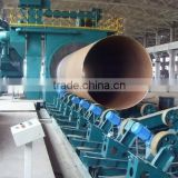 1 QG series CE and ISO approved pipe shot blasting machines, sand blasting machine