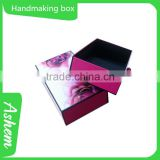 Hot sell printing service handmaking paper box for perfume with customized design, DL212