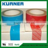 Custom Tamper Evident proof packing security tape materials of PET