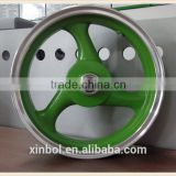 12 inch motorcycle wheel rim with disc brake, bright edge