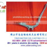 Supply Aluminum alloy die casting chair arm parts furniture handrail components armrest