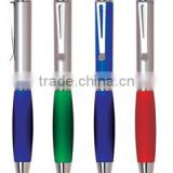 plastic ballpoint pens metal clip plastic Advertisement pen cheap promotional plastic ball pen