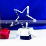 beautiful star trophy crystal award