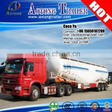 Semi-Trailer Type and Truck Trailer Use 3 axles 50ton bulk cement tank trailer                                                                         Quality Choice