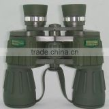 High-quality military marnie Binocular Day And Night Vision Amry Green Binoculars Telescope Folding Jumelles 10X50