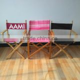Factory custom wooden director chair, canvas director chair, folding director chair                                                                         Quality Choice