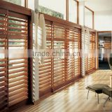 Wholesale china blinds factory outdoor pvc wooden window venetian blinds plantation shutters gold coast
