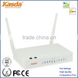 Kasda Wireless Bonding VDSL/ADSL Modem Router KW5225 with 802.11n 300Mbps WiFi AP Integrated 2 GE Ports 3 FE Ports