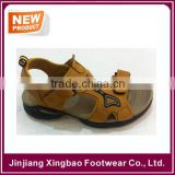 2015 Open Toe Mens Genuine leather Sandals Summer Beach Comfortable Slippers Shoes