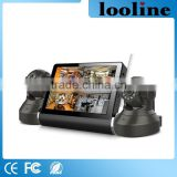 Looline Home Security System wifi 7inch Touch Screen Support Entertainment Functions With 720P Wireless IP Camera