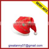 Alibaba express 2015 new product new x'mas decoration red christmas hat ideas red felt christmas hats sale