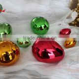 beautiful color plated metal alloy ball for trophies and decorations