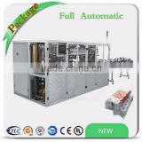 Automatic log saw cutter and packing line rewinding gluing kitchen towel toilet roll machine