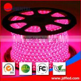 CE&ROHS approved 220v IP65 3528 60leds/m 50m/roll 5050 SMD RGB WS2811 IC Built-in Individually Addressable Color LED Strip Light