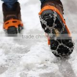 Cleats for Snow and Ice Walking Walker,Spike Shoes Claws - Studded Spike Crampon Over Shoes for Hiking