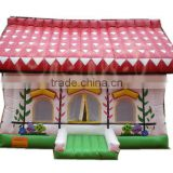 Commercial cheap inflatable bouncer house for sale, inflatable jumping bouncer