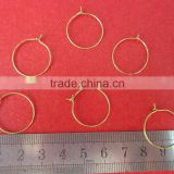 factory supply brass ear hook for fashion jewelry components