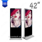 42 Inch Android Advertising Player Display Photo Booth Machines Bluetooth Pizza Signs Exporter led Signs China