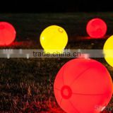 Light-up LED Shiny Beach PVC Ball for Night Pool Party Volley Korea with any color