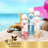 Refreshing moisturizing SPF50 sunscreen spray
