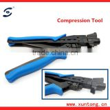 Hydraulic crimping tool RG59 RG6 RG11 Compression Plier F Connector Crimping Tool