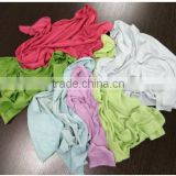 used dark color cotton rags on recycling industrial use