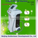 2013 New design E-light+IPL+RF machine tattooing Beauty machine glitter tattoo deamond tato set with tattoo stencils