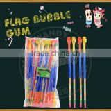 falg type stick bubble chewing gum