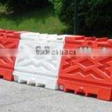 supply rotational moulded plastic traffic barrier , OEM rotomoulding barrier , PE material barrier