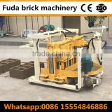 CHB QT40-3A block machine supplier fly ash hollow block making machine