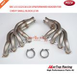 Mertop Race SBC LS1/LS2/LS6 LSX UP&FORWARD TURBO MANIFOLD HEADER FOR CHEVY SMALL BLOCK LS V8