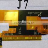 High quality Mobile Phone Flex Cables !one set touch and lcd flex cable for samsung galaxy j7