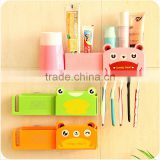 Q011 Fashion cartoon animal wall sucker bathroom holder