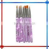 7PCS UV Gel Acrylic Nail Art Brush