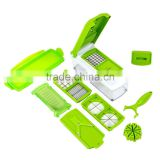 FACTORY SALE !!! 12 Pcs TV Vegetable Fruit Multi Peeler Cutter Chopper Slicer Kitchen Cooking Tools For Salad