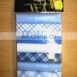 Packaged cotton handkerchief
