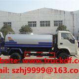 High quality and competitive price forland brand 1300gallons water tank truck for sale