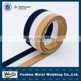 Three-color Polyester Webbing /Fashion Polyester Strap For Belt For Dog Collar