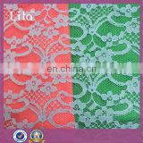 lace bridal knitted fabric supplier