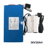 lithium battery pack 36v 30ah for Electric Scooter ebike
